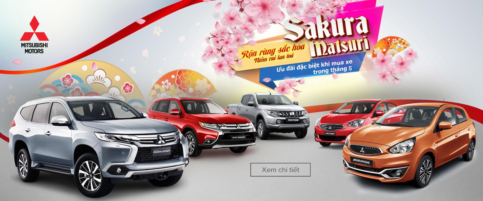 """Khuyến mại tháng 5/2017 """"Sakura Matsuri, Rộn ràng sắc hoa – Niềm vui lan toả"""""""