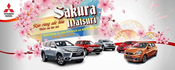 """Khuyến mãi Tháng 4/2017 """"Sakura Matsuri, Rộn ràng sắc hoa – Niềm vui lan toả"""""""