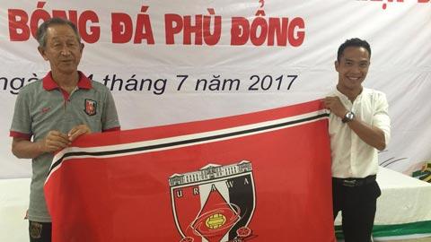 Giao lưu cùng CLB J-league Urawa Red Diamonds, CLB Phù Đổng đón đầu nhiều cơ hội phát triển chuyên nghiệp