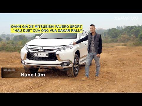 Đánh giá xe Mitsubishi Pajero Sport hoàn toàn mới- Vua địa hình giá 1,5 tỷ tại Việt Nam.