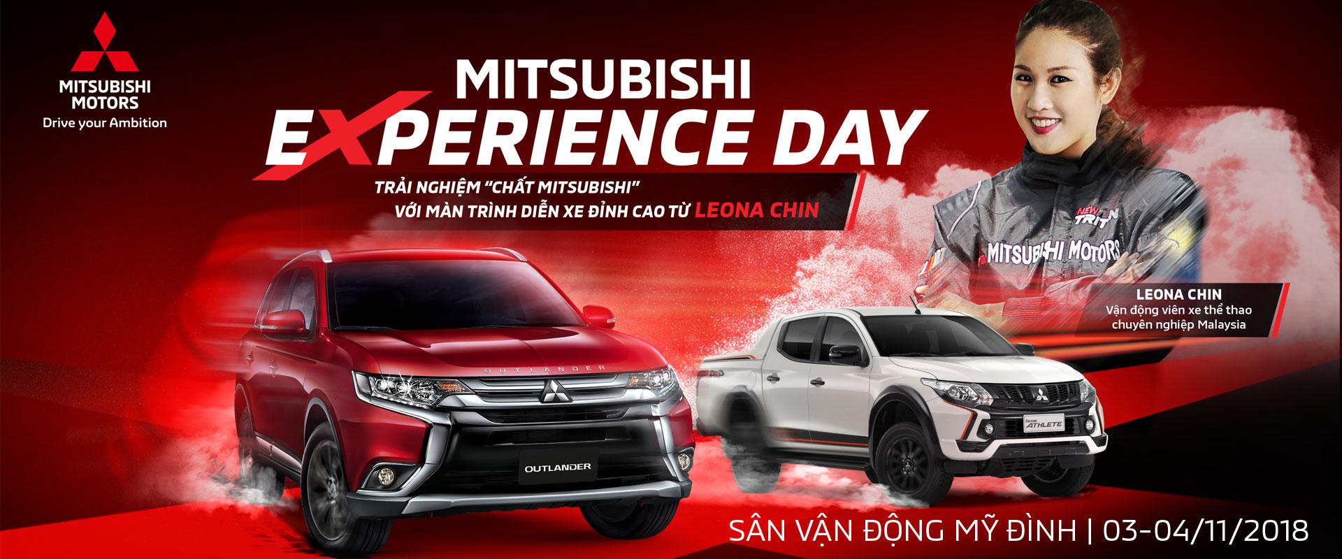 """Trải nghiệm """"chất Mitsubishi"""" cùng nữ vận động viên chuyên nghiệp Leona Chin tại Hà Nội"""