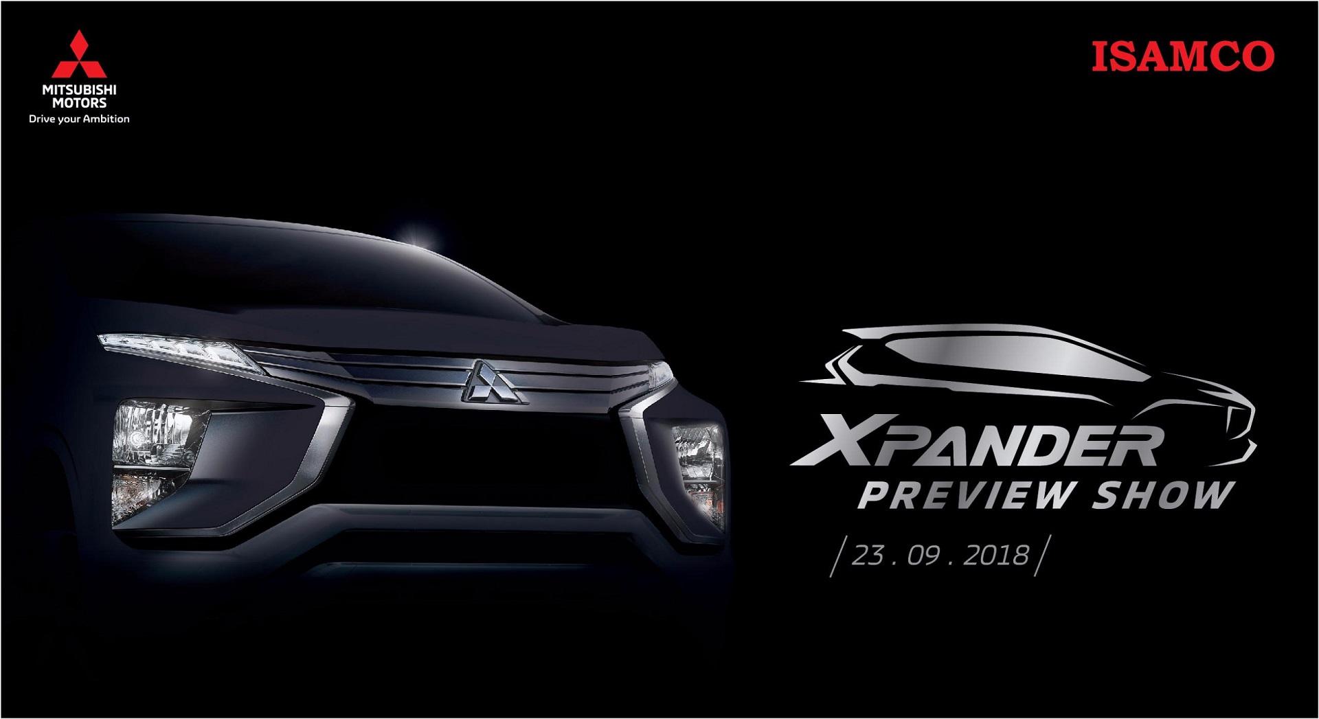 """Chương trình đặc biệt """"XPANDER PREVIEW SHOW"""" tại Showroom Mitsubishi ISAMCO ngày 23/9/2018"""